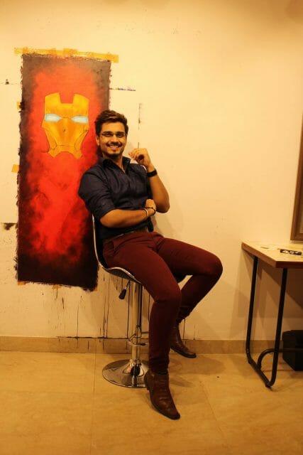 Artist - Dhanraj Sagar Shelke