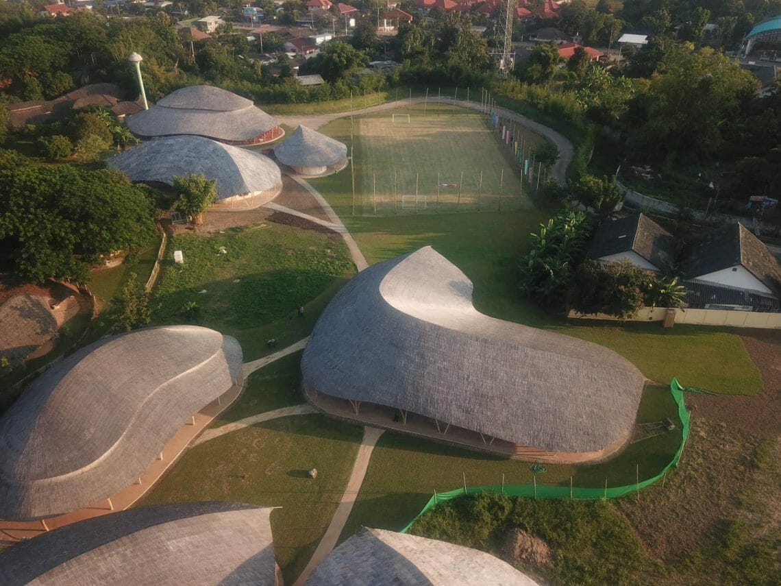 Science Labs & Music Center designed by Chiangmai Life Architects
