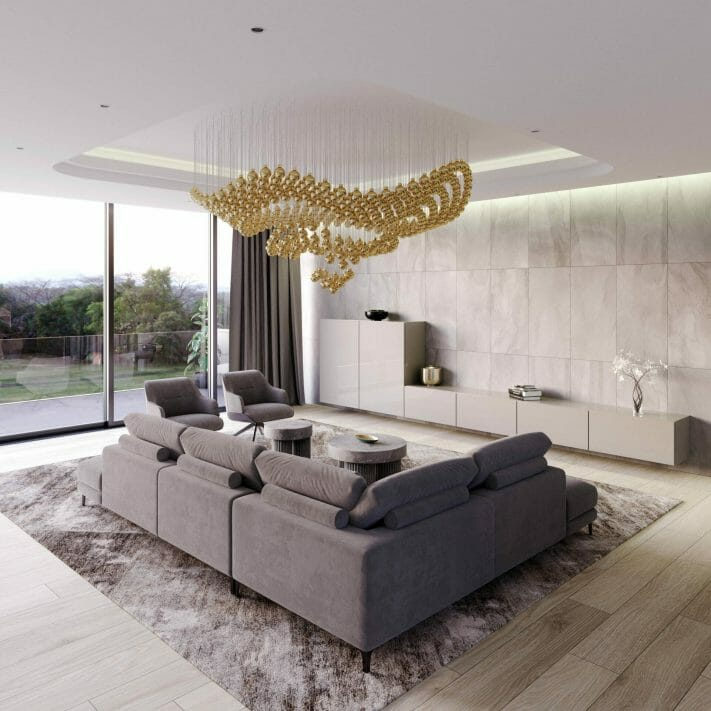 An Alluring New Chandelier Designed by Sans Souci.